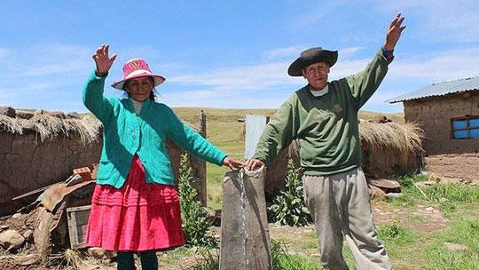 Invertirán 31 millones de soles para obras de agua y saneamiento en Cusco y Apurímac