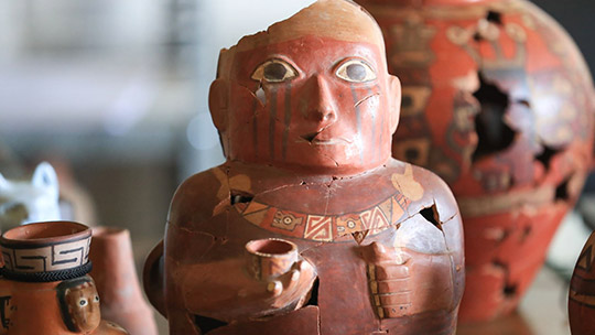 Ayacucho: cerámica hallada en capital Wari revela origen del primer imperio del Perú