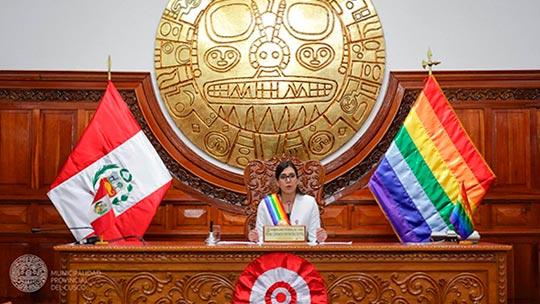 Regidora de 25 años se convierte en alcaldesa encargada del Cusco