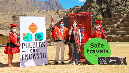 """Reactivación turística: Mincetur lanza iniciativa """"Pueblos con Encanto"""" en Ollantaytambo"""